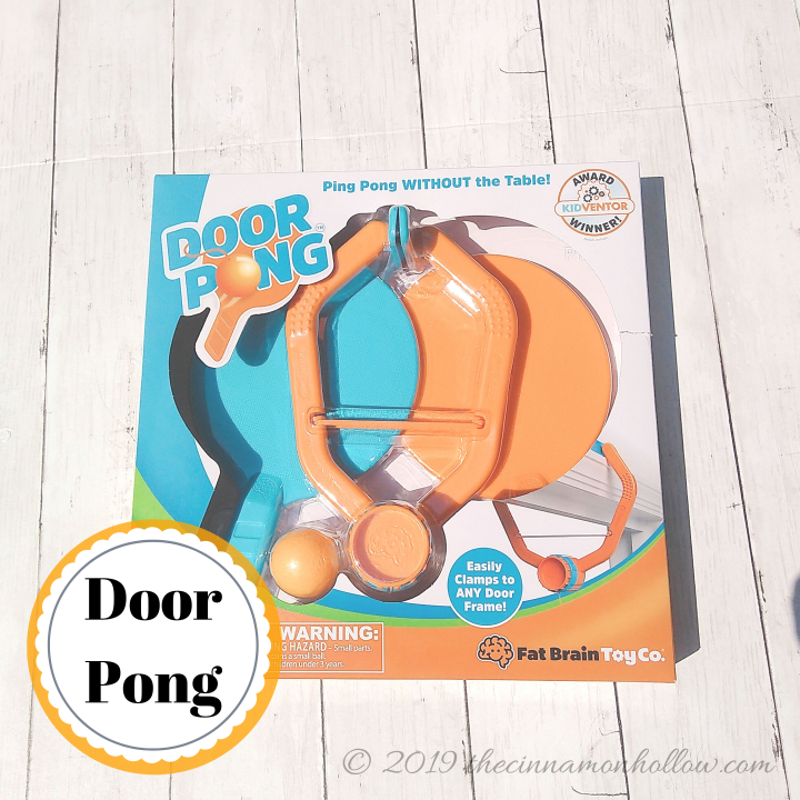 Fat Brain Toys Door Pong Game