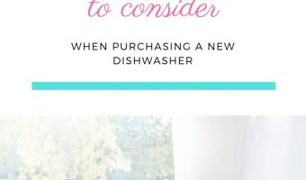 5 things to consider when purchasing a new dishwasher