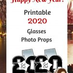 Printable 2019 Glasses Photo Props