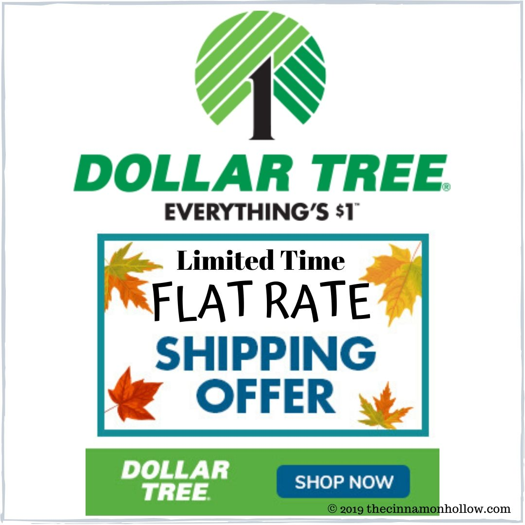 Dollar Tree Flat Rate Shipping Event