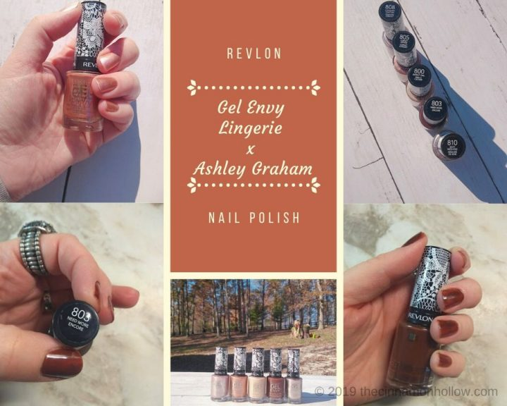 Revlon Gel Envy Lingerie x Ashley Graham Nail Polish