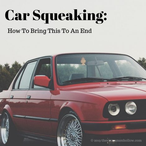 Squeaking Car Fixed With Lubrication