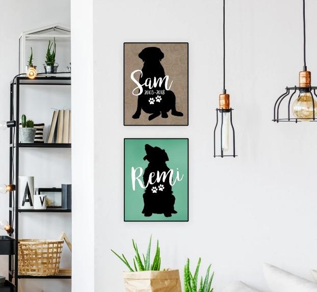 Custom Pet Lover Art Print Jane