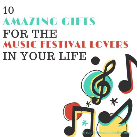 10 Amazing Gifts For The Music Festival Lovers In Your Life