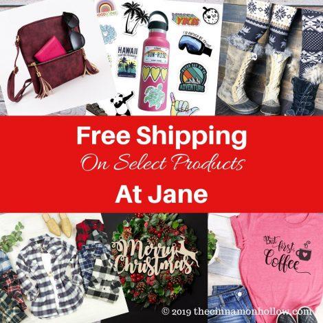 Free Shipping At Jane