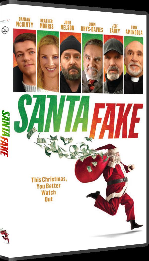 Santa Fake: DVD Cover