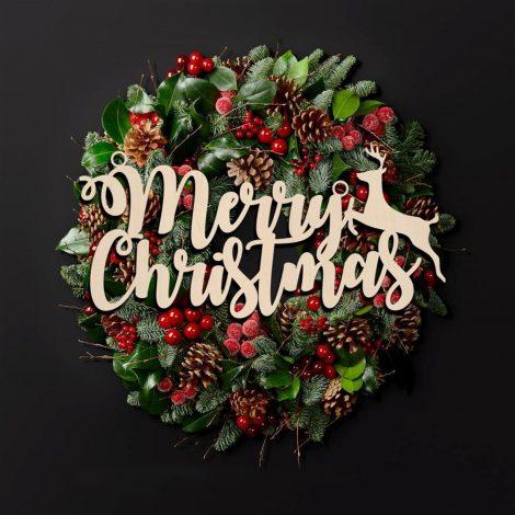 Holiday wreathes and door hangers