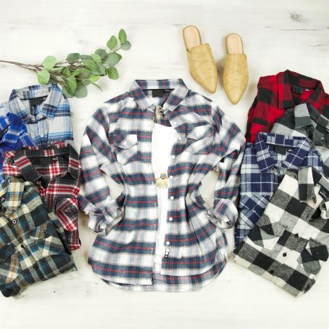Cozy winter flannel shirts jane.com