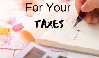 Preparing For Your Taxes