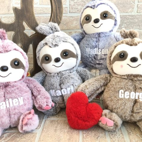 Affordable Valentine Gifts - Sloth Plush Jane.com