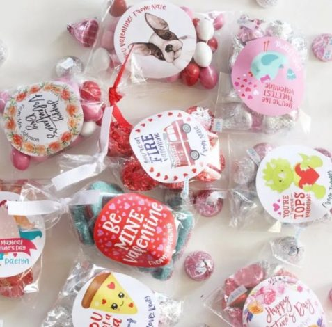 Affordable Valentine Gifts - Valentine Stickers and Bags Jane.com