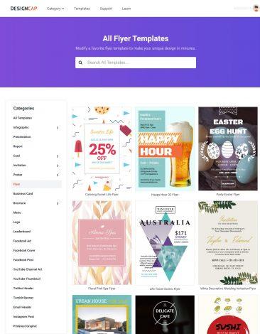Customize Flyer Templates Online DesignCap