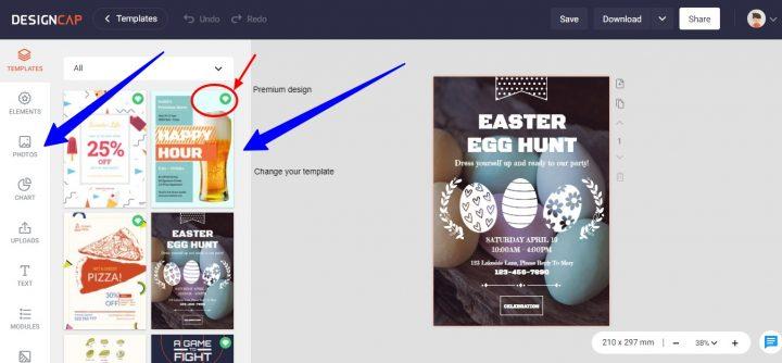 Graphic Designer - DesignCap