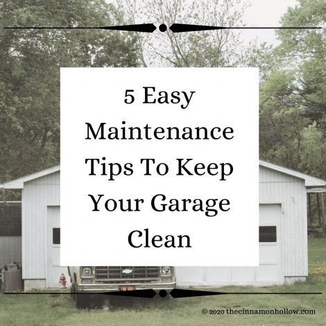 5 Easy Maintenance Tips To Keep Your Garage Clean