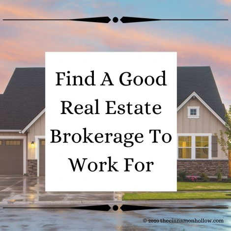 Find A Good Real Estate Broker To Work For
