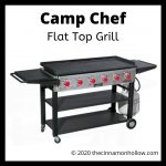 Enjoy Summer Grilling On A Flat Top Grill. Breakfast, Lunch & Supper!