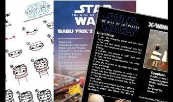 The Rise of Skywalker Activity Sheets