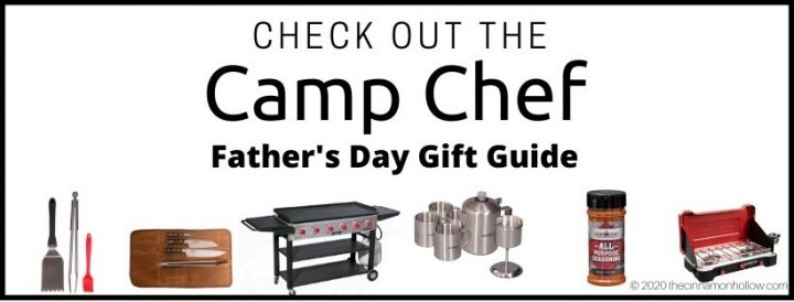 Camp Chef Father's Day Gift Guide