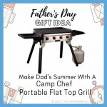 Make Dad's Summer With A Camp Chef Portable Flat Top Grill