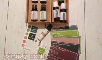 Simply Earth Recipe Box July 2020