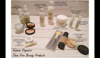 Suzanne Somers Organic Toxin Free Beauty Products