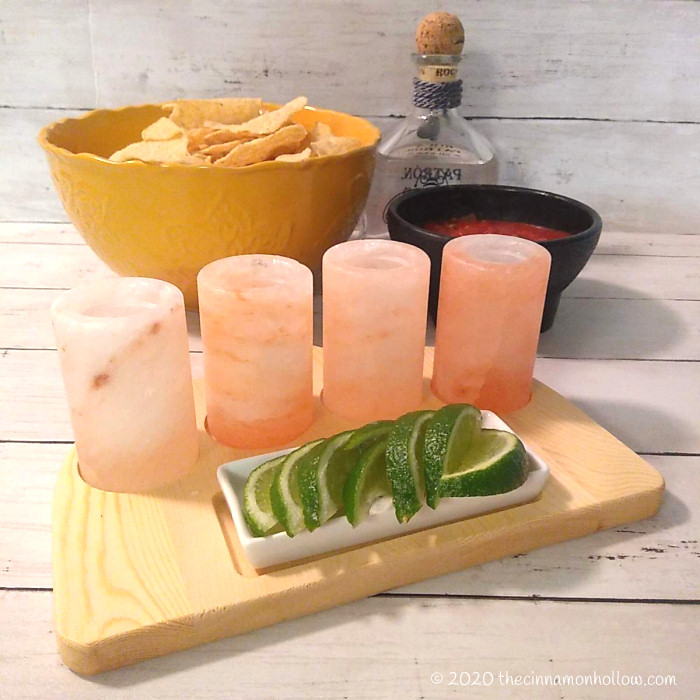 The Spice Lab Himalayan Salt Tequila Shooters Gift Set Instagram 4