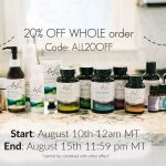 Rocky Mountain Oils 20% off Your Entire Order! Limited Time Only