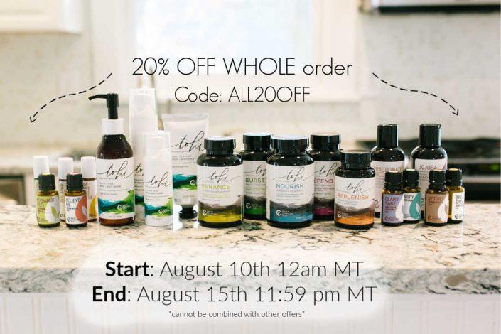 Rocky Mountain Oils 20% Off