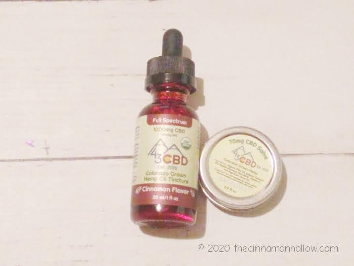 43 CBD Hemp CBD Oil Cinnamon