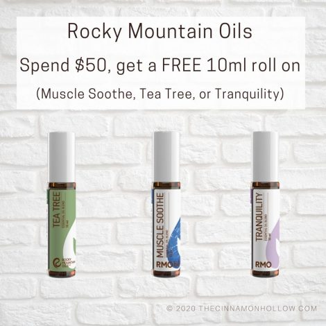 RMO Spend 50 get a FREE 10ml roll on