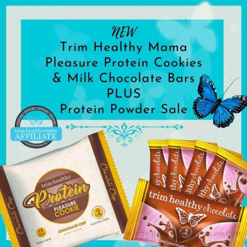 Trim Healthy Mama Protein Pleasure Cookie
