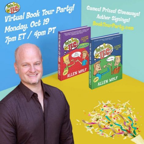 Youre Pulling My Leg Virtual Book Tour Party