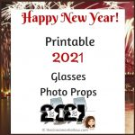 Download These Printable 2021 Glasses Photo Props
