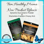 THM Shameless Crackers Cheesy Kick And Dynamic Duo Greens Powder Release