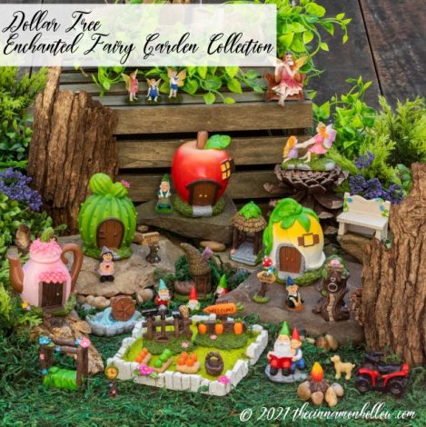 Dollar Tree Enchanted Fairy Garden