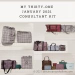 My Thirty-One 2021 Consultant Kit