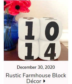 Rustic Farmhouse Blocks