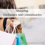 Shopping Exchanges And Commissaries