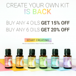 RMO Create Your Own Kit Is Back! Plus 3 New Essential Oil Recipes!