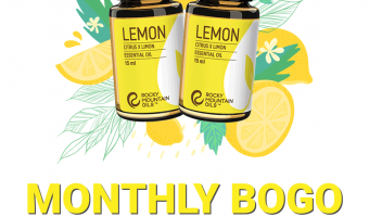 Lemon Essential Oil - BOGO - RMO