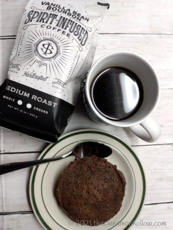 Vanilla Bean Bourbon Coffee Low Carb Single Serve Cake