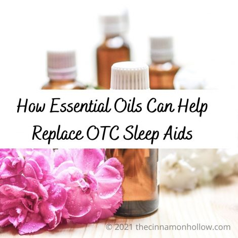 How Essential Oils Can Help Replace OTC Sleep Aids