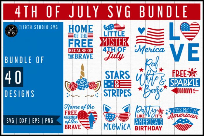 Craft House SVG 4th Of July SVG Bundle