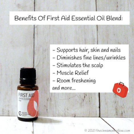 Rocky Mountain Oils First Aid Blend