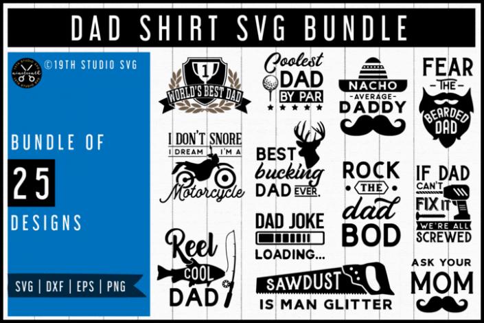 Dad Shirt SVG Bundle
