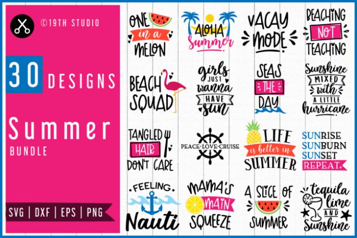 Craft House SVG Summer SVG Bundle