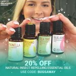Natural Insect Repelling Oils