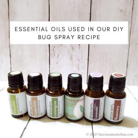 Essential Oils Used In Our DIY Bug Spray Recipe