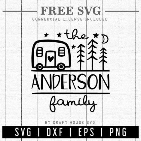Free Camp Name Sign SVG