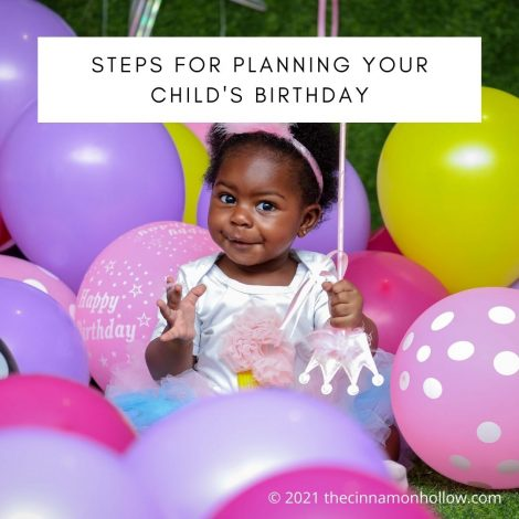 Steps For Planning Your Child's Birthday